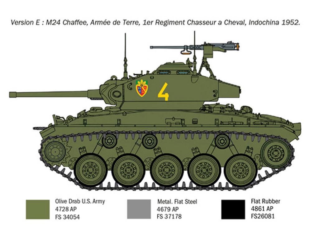 M24 Chaffee Korean War (Vista 9)