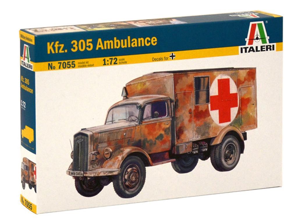Opel Blitz Kfz.305 Ambulancia (Vista 1)