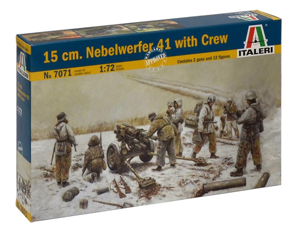 15 cm nebelwerfer 41 y dotacion (Vista 1)