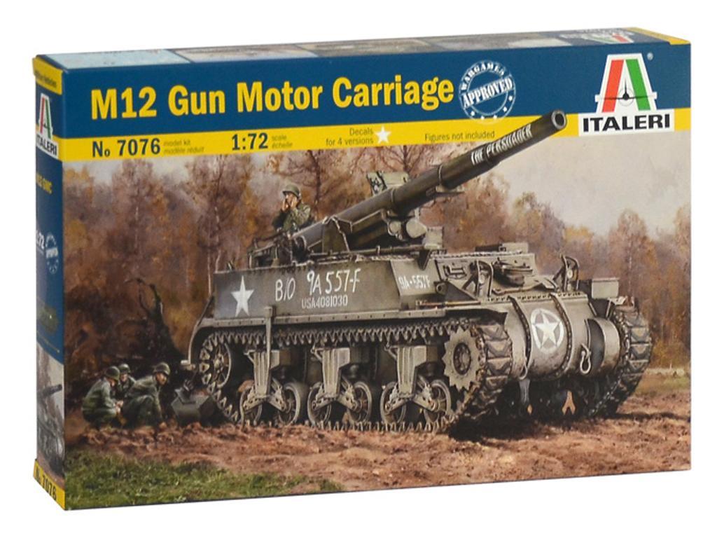 M12 Gun Motor Carriage (Vista 1)
