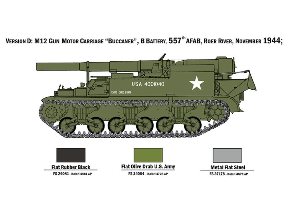 M12 Gun Motor Carriage (Vista 2)