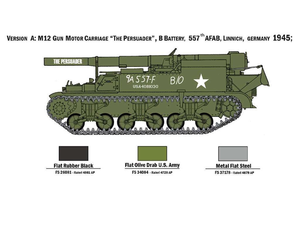 M12 Gun Motor Carriage (Vista 4)