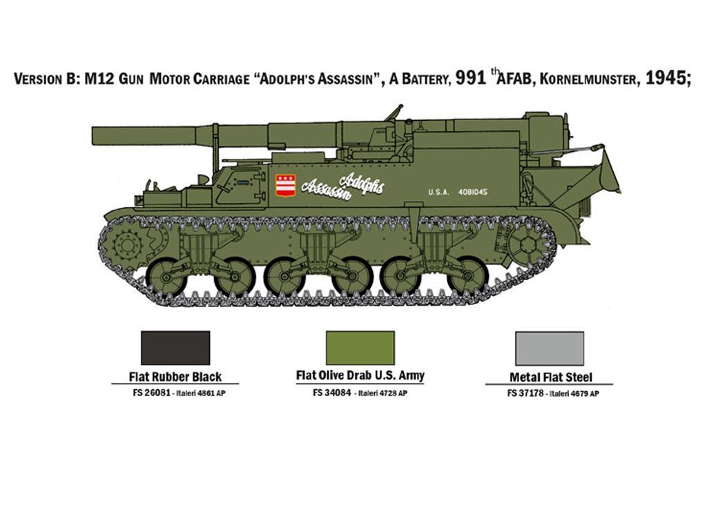M12 Gun Motor Carriage (Vista 5)