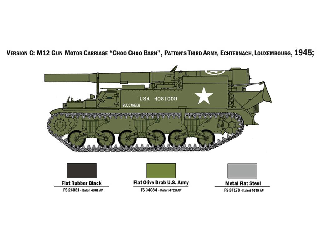 M12 Gun Motor Carriage (Vista 6)