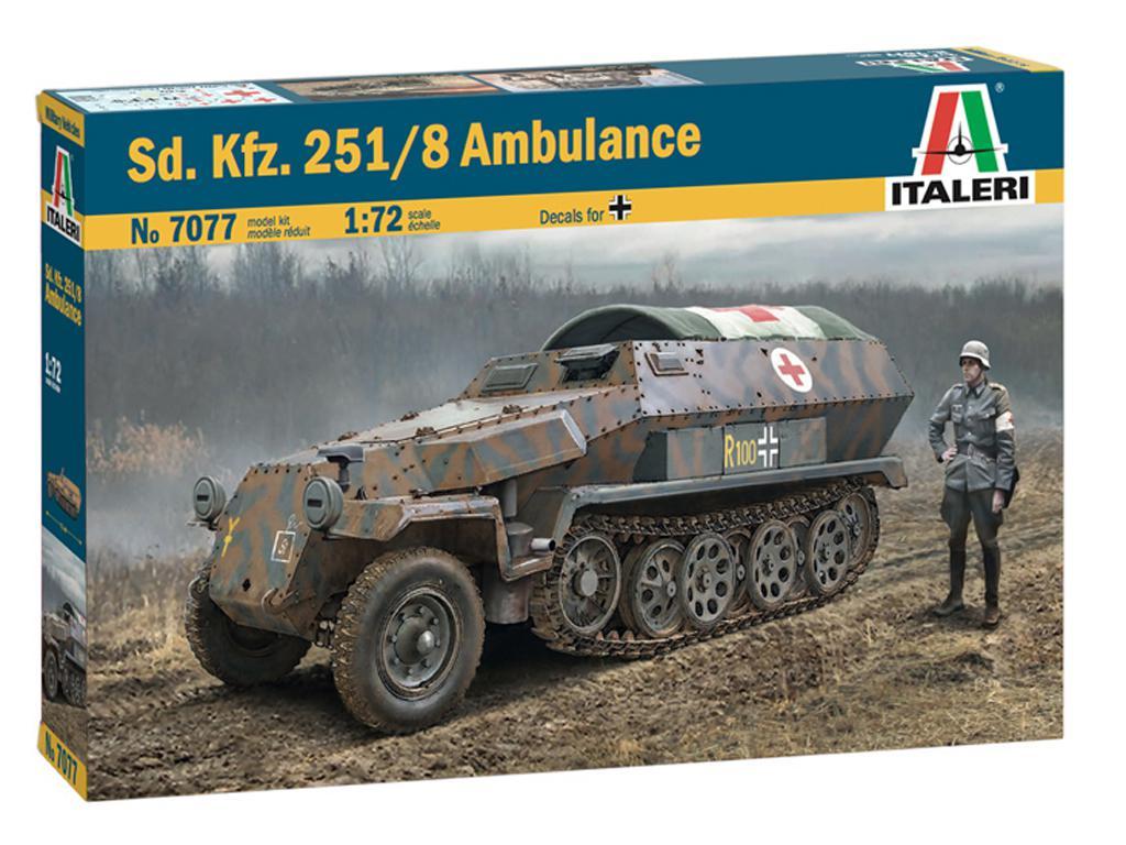 Sd.Kfz. 251/8 Ambulancia (Vista 1)
