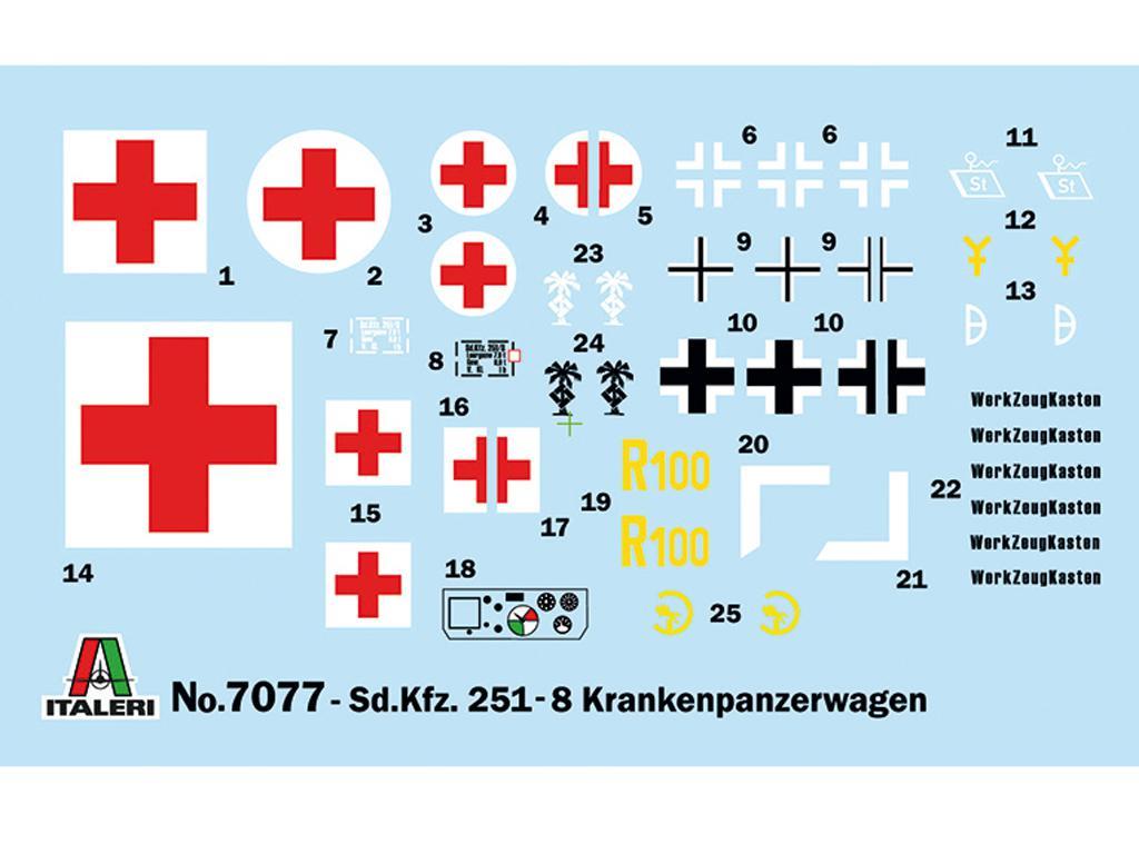 Sd.Kfz. 251/8 Ambulancia (Vista 3)