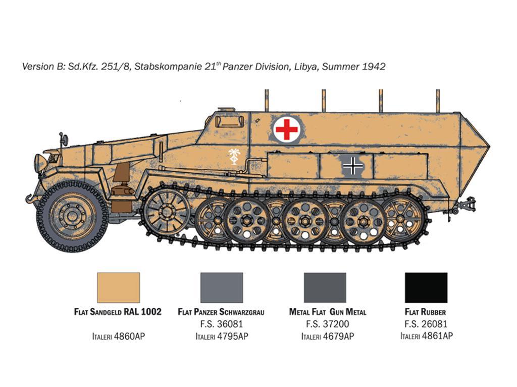 Sd.Kfz. 251/8 Ambulancia (Vista 5)