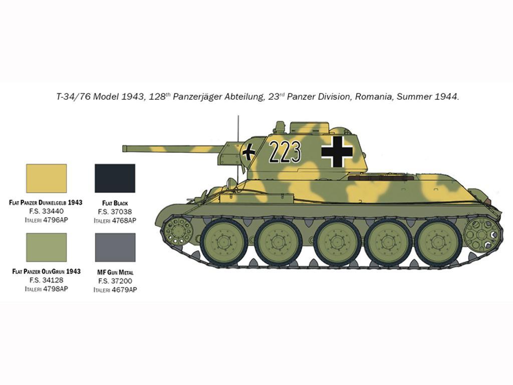 T-34/76 Model 1943 (Vista 7)