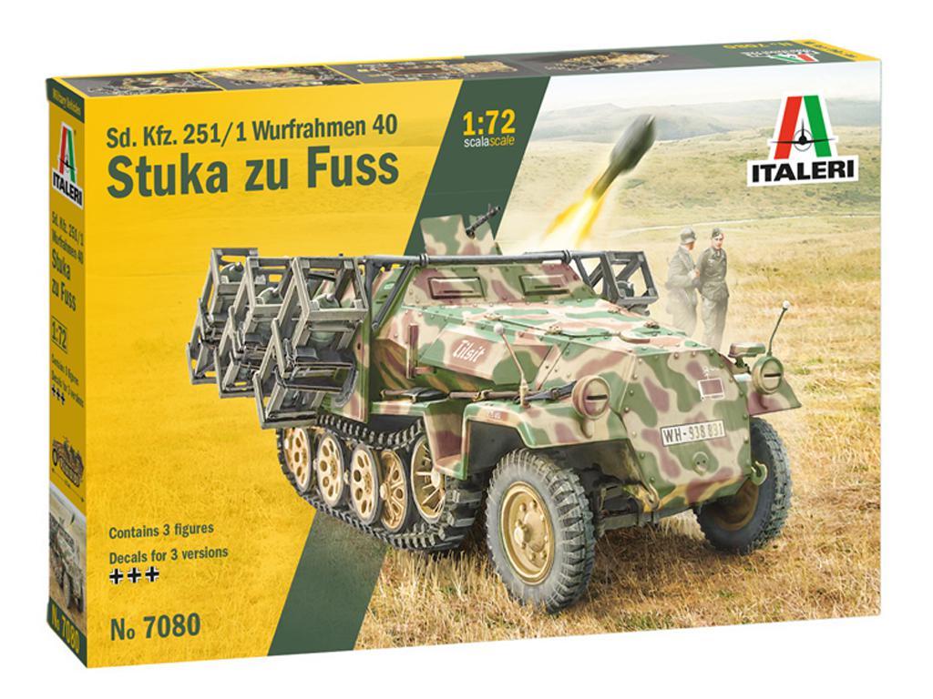 Sd. Kfz. 251/1 Wurfrahmen Stuka zu Fuss (Vista 1)