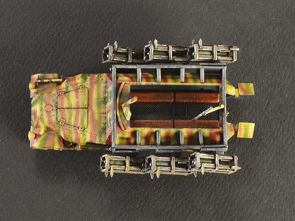 Sd. Kfz. 251/1 Wurfrahmen Stuka zu Fuss (Vista 4)