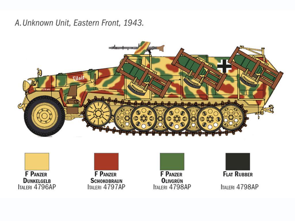 Sd. Kfz. 251/1 Wurfrahmen Stuka zu Fuss (Vista 5)