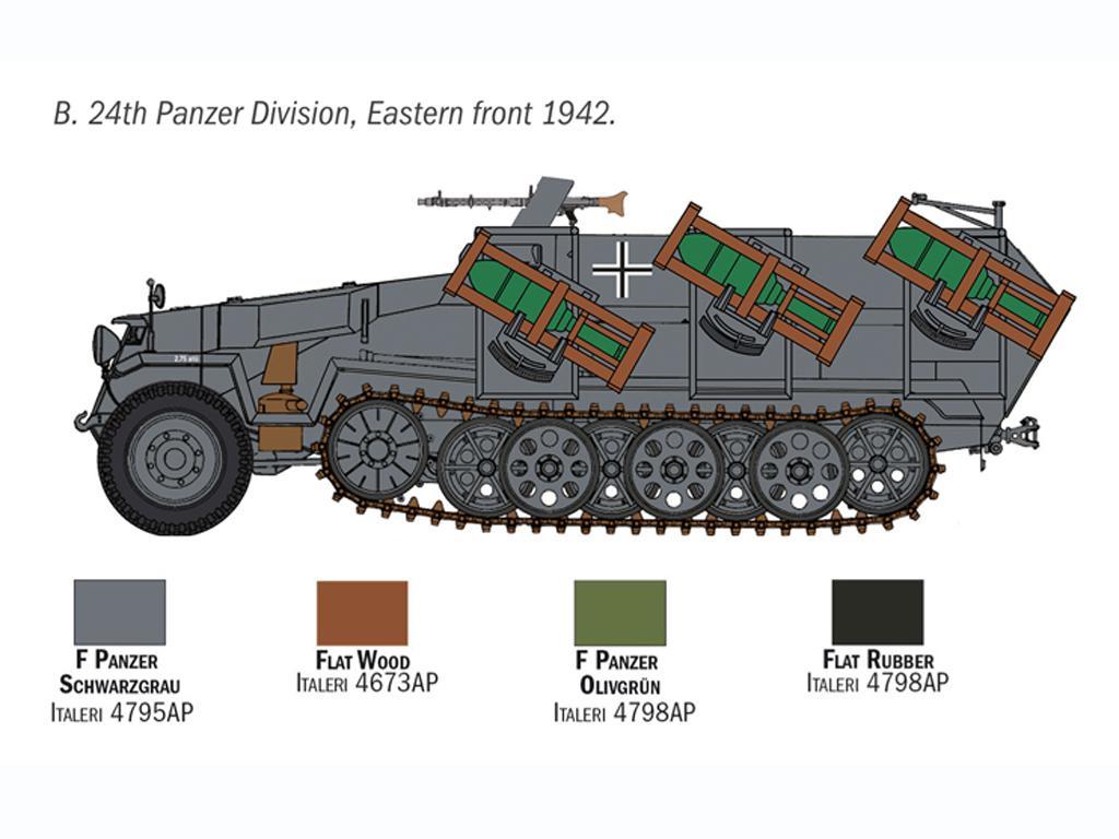 Sd. Kfz. 251/1 Wurfrahmen Stuka zu Fuss (Vista 6)