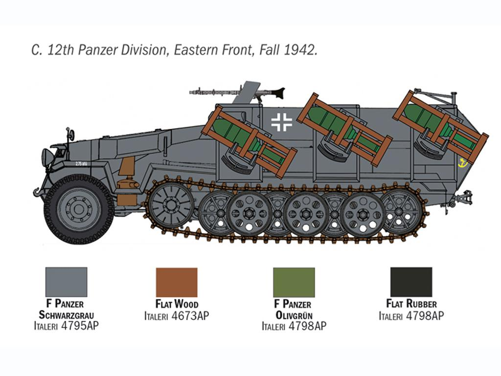 Sd. Kfz. 251/1 Wurfrahmen Stuka zu Fuss (Vista 7)