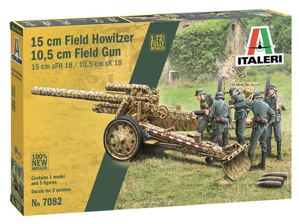 15cm Field Howitzer 10,5 cm Field Gun (Vista 1)