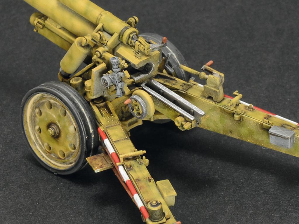 15cm Field Howitzer 10,5 cm Field Gun (Vista 8)