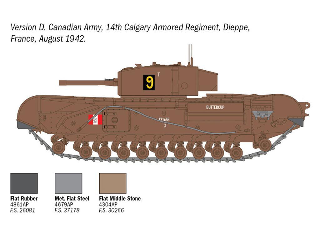 Churchill Mk. III (Vista 2)
