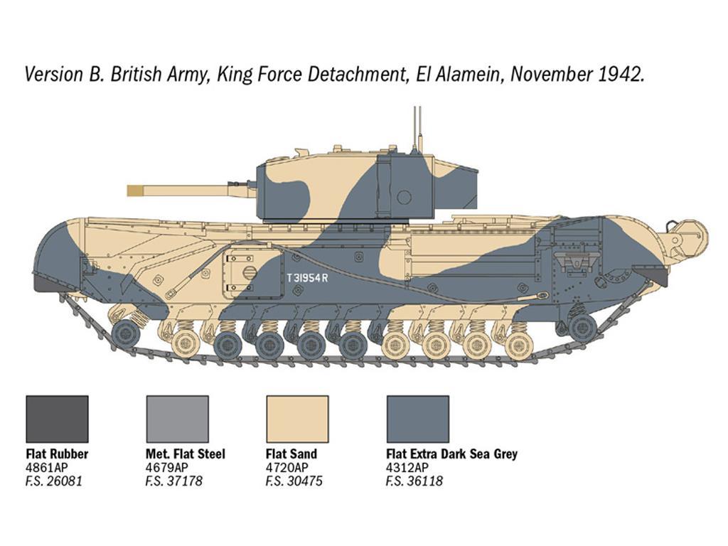 Churchill Mk. III (Vista 8)