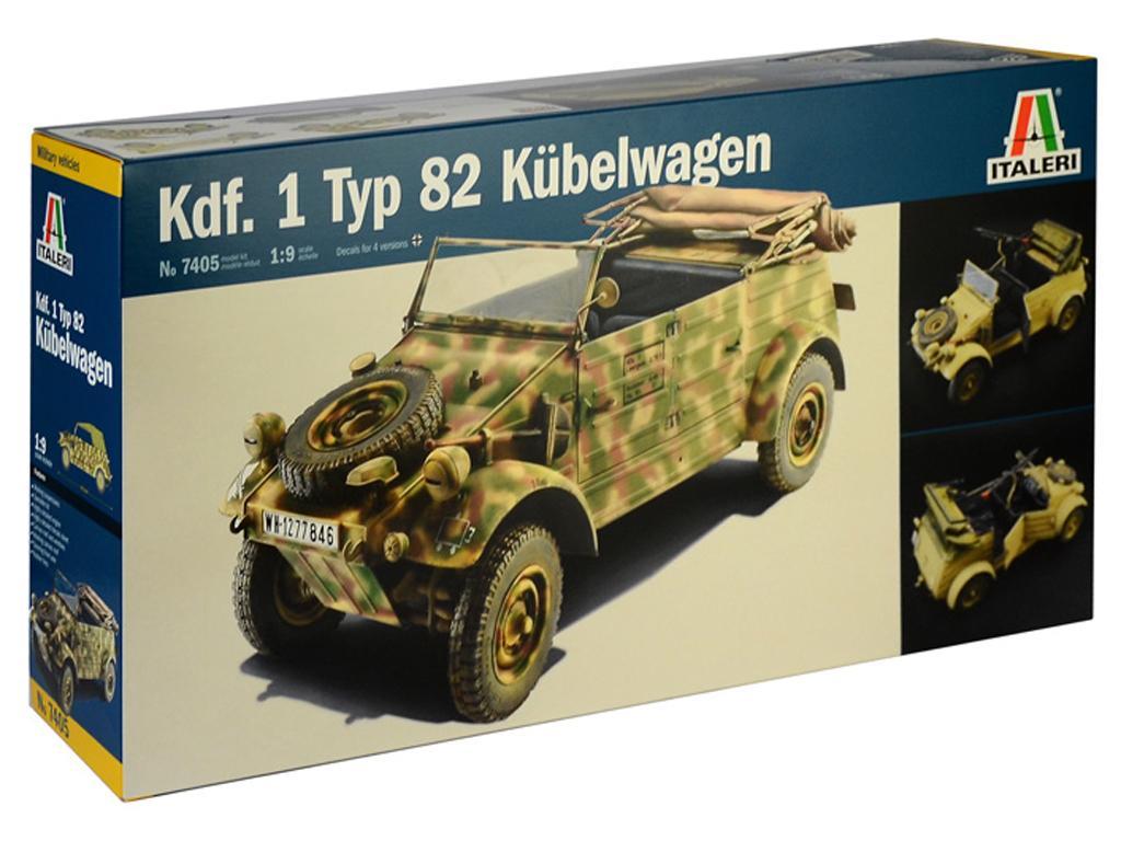 Kdf. 1 Typ 82 Kübelwagen (Vista 1)