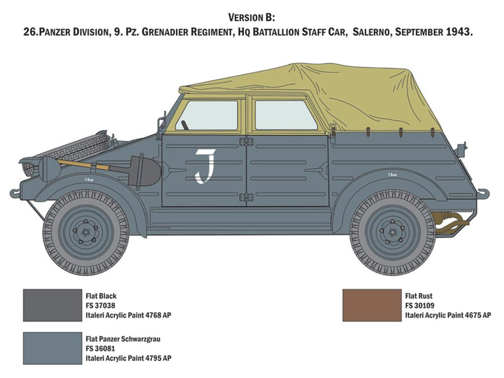 Kdf. 1 Typ 82 Kübelwagen (Vista 4)