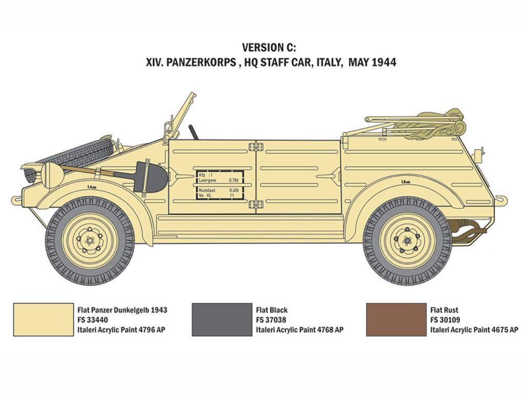 Kdf. 1 Typ 82 Kübelwagen (Vista 5)
