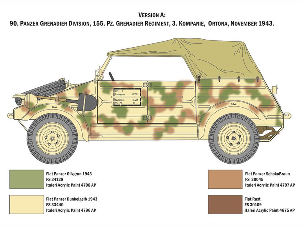 Kdf. 1 Typ 82 Kübelwagen (Vista 6)