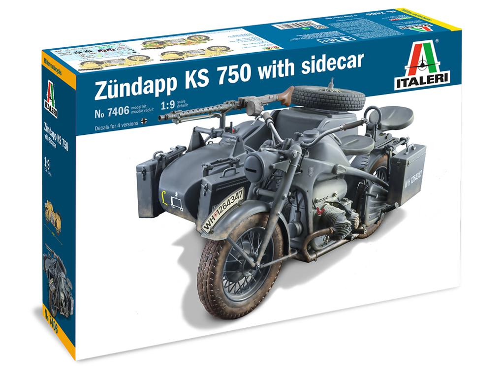 Zundapp KS 750 con Sidecar (Vista 1)