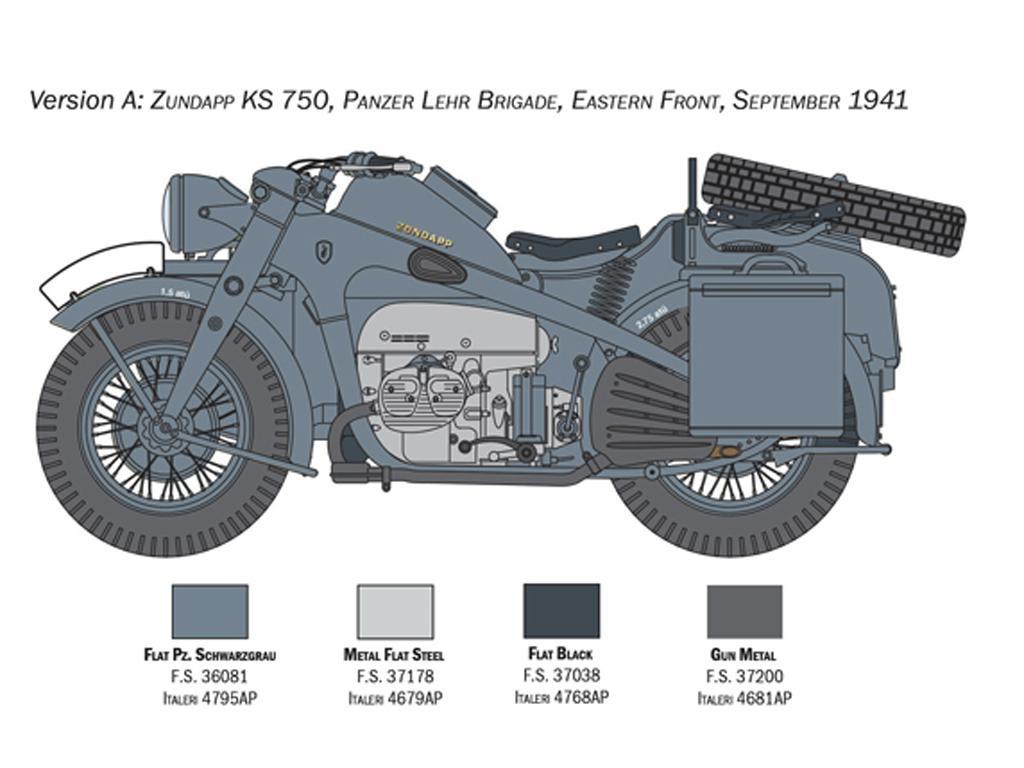 Zundapp KS 750 con Sidecar (Vista 5)