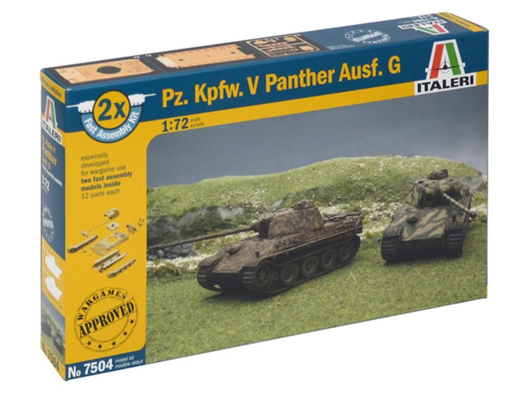 PZ.KPFW. V Panther Ausf. G,  (Vista 1)