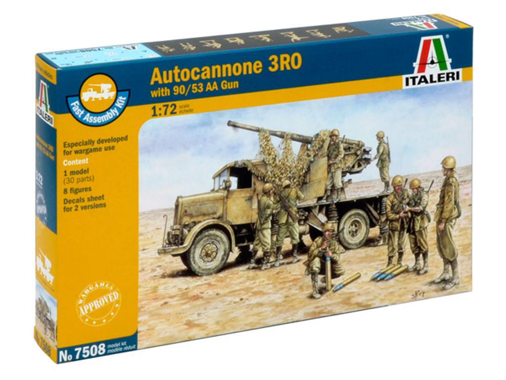 Autocannone RO3 Con Cañon 90/53 AA (Vista 1)