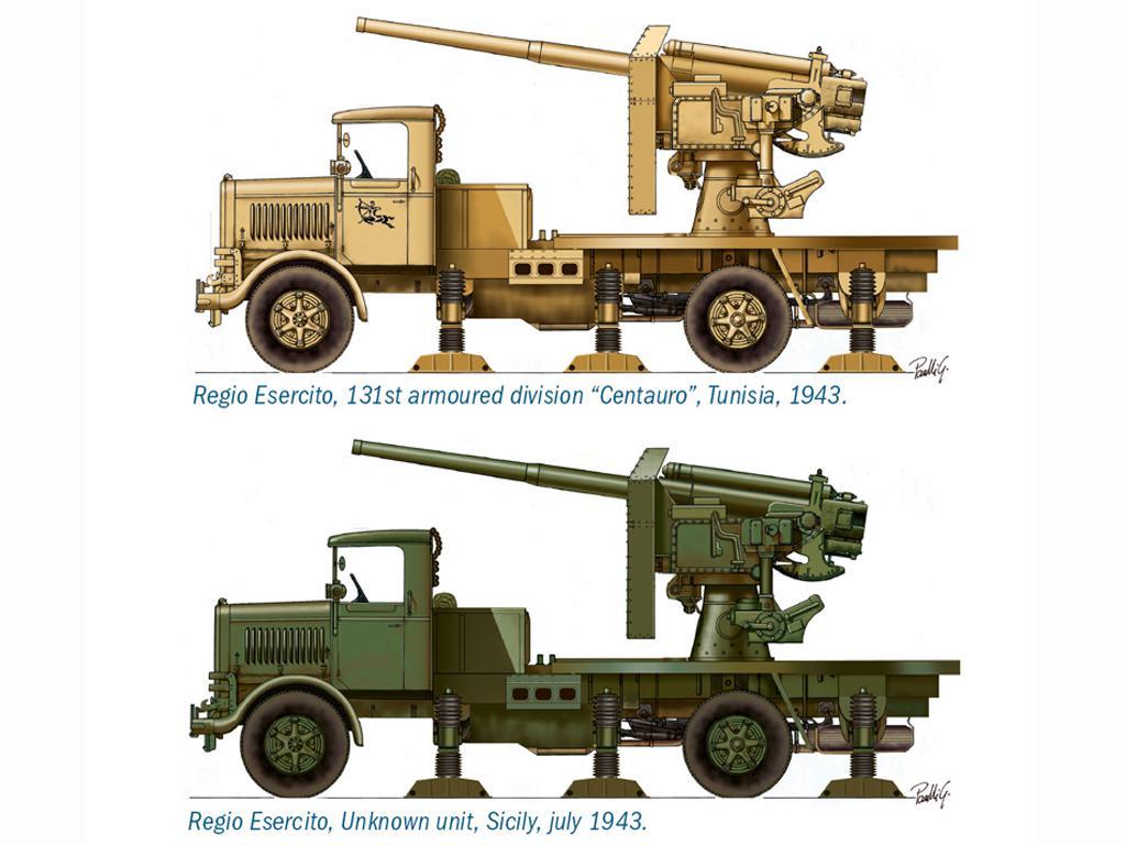 Autocannone RO3 Con Cañon 90/53 AA (Vista 2)