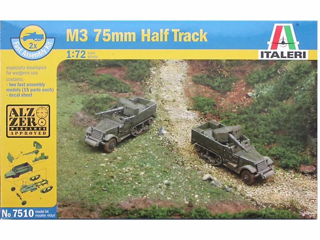 Semioruga M3 75mm., (Vista 1)