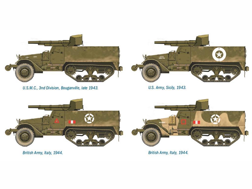 Semioruga M3 75mm., (Vista 3)