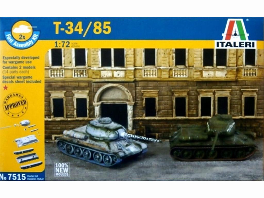 T-34/85 Russian Tank (Vista 1)