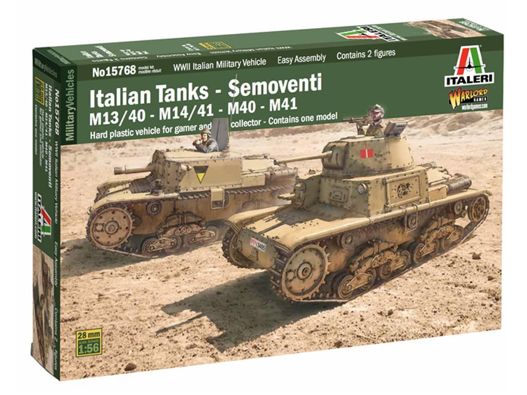 Italian Tanks - Semoventi M13/40 - M14/41 - M40 - M41 (Vista 1)