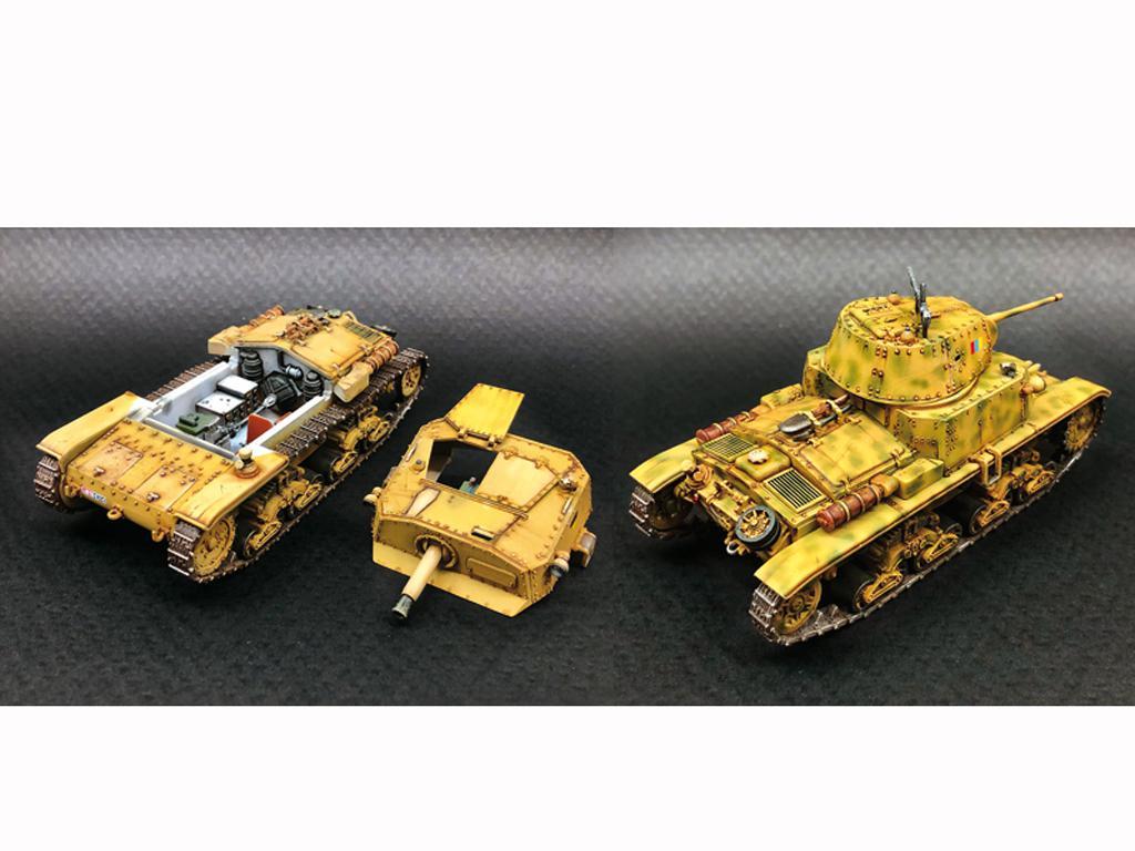 Italian Tanks - Semoventi M13/40 - M14/41 - M40 - M41 (Vista 2)