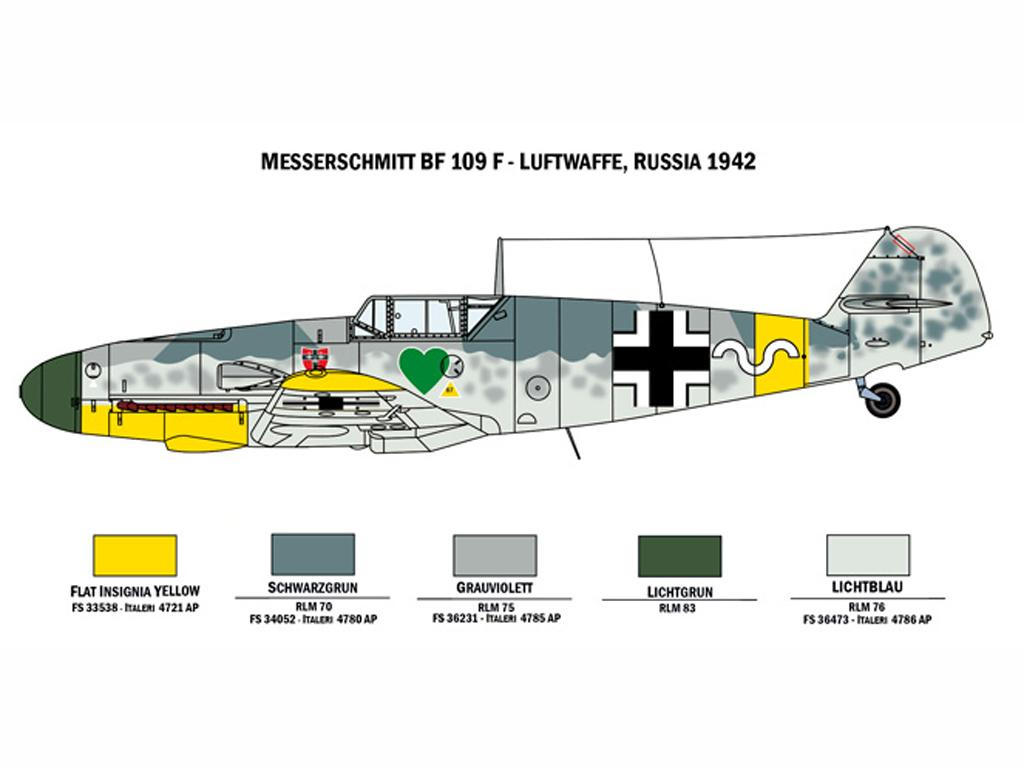 BF109 F-4 and FW 190 D9 (Vista 4)