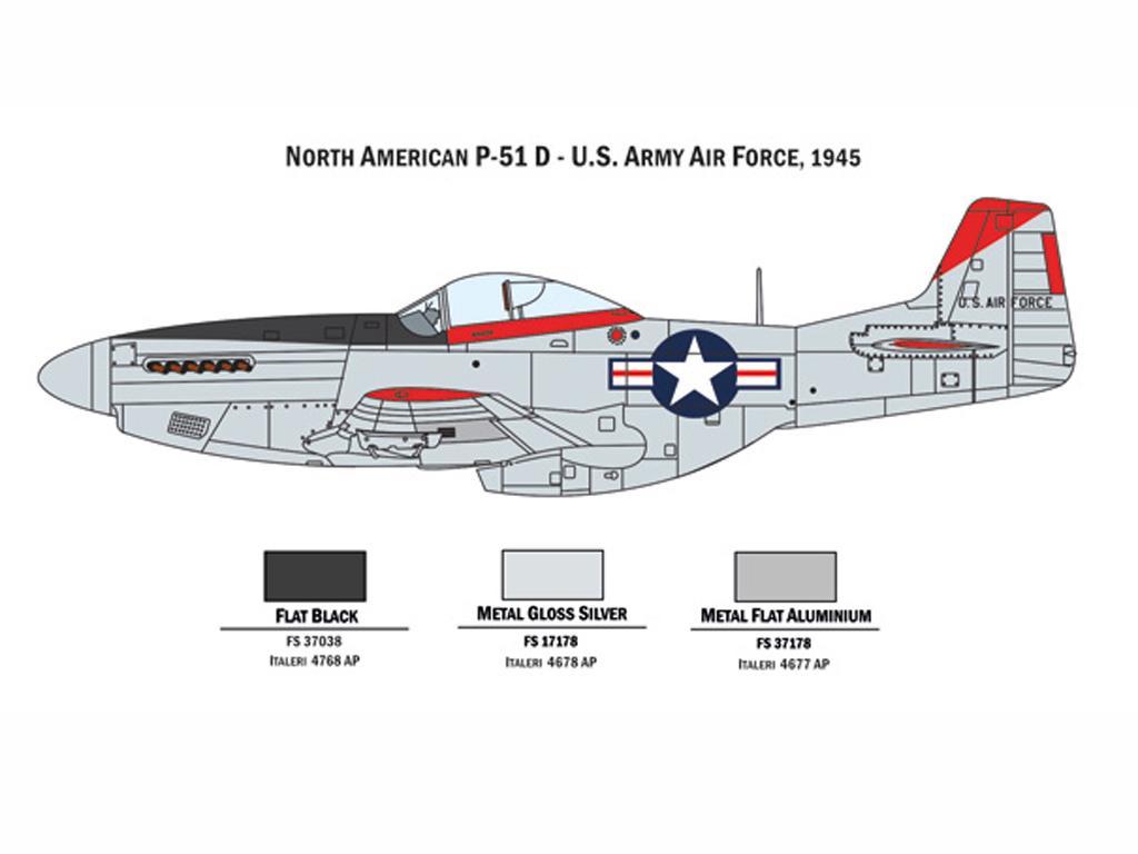 P 47 N and P 51 D (Vista 2)