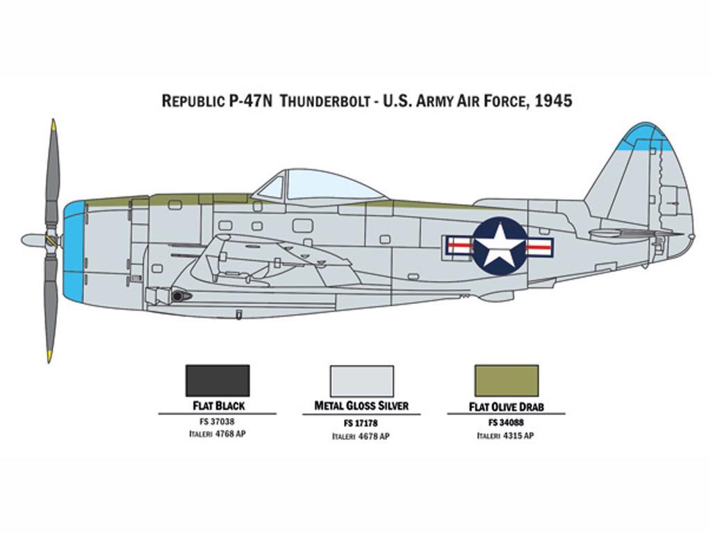 P 47 N and P 51 D (Vista 4)