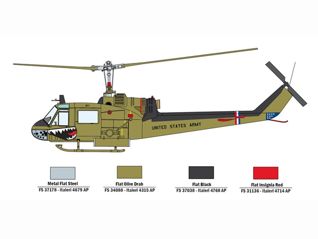 UH-1C Y MI-24D (Vista 4)