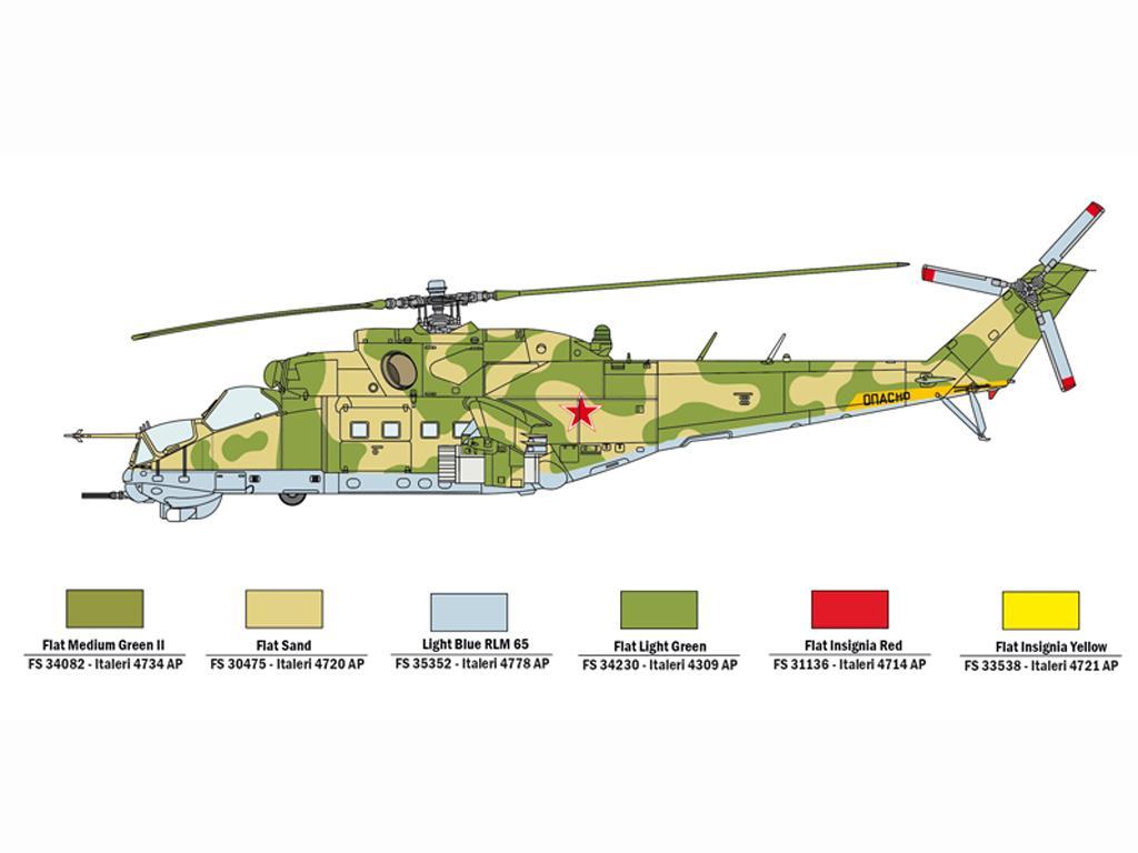 UH-1C Y MI-24D (Vista 5)