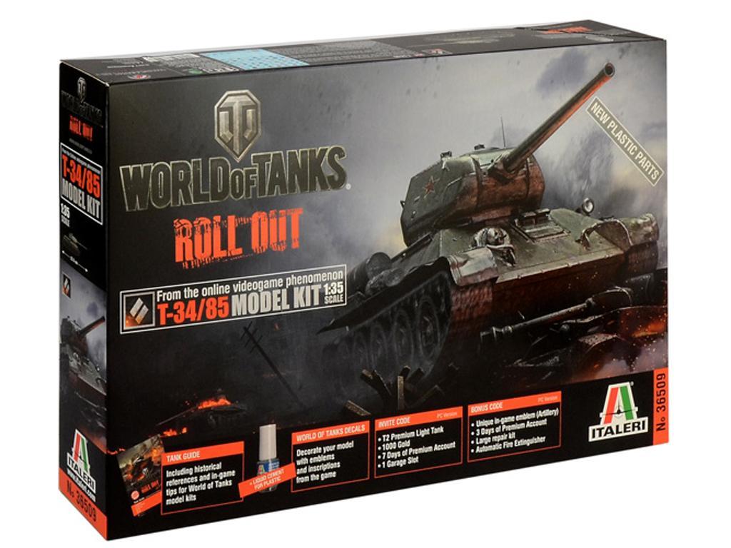 World of Tanks - T-34/85 (Vista 1)