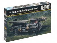 Jeep Ambulancia 1/4 ton. 4x4  (Vista 3)
