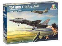 Top Gun F-14A vs A-4F (Vista 4)
