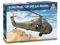 H-34A Pirate / UH-34D U.S. Marines (Vista 8)