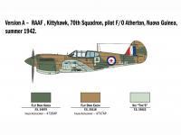 P-40 E/K Kittyhawk (Vista 12)