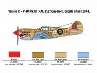 P-40 E/K Kittyhawk (Vista 14)