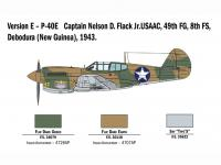 P-40 E/K Kittyhawk (Vista 16)