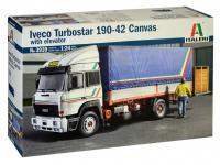 Iveco Turbostar 190-42 Canvas Whit Elevator (Vista 3)