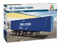 Contenedor de carga de 40 pies (Vista 3)