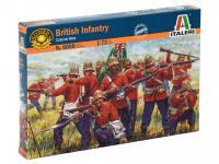Infanteria Britanica, Guerra Zulu (Vista 3)